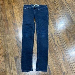 Hollister women's super skinny jeans dark wash 0S